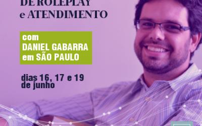 Atendimento e Supervisão de RolePlay com Daniel Gabarra em São Paulo | Junho de 2018